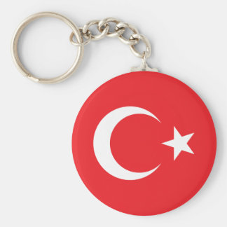 Turkish Flag Keychain