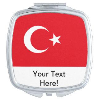 Turkish Flag Vanity Mirrors