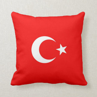 Turkish Flag Pillow