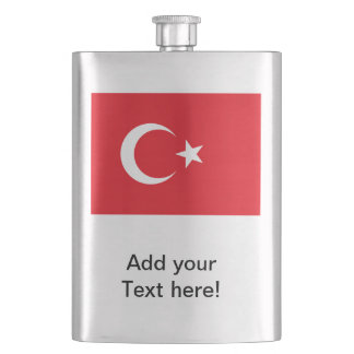 Turkish Flag Flask