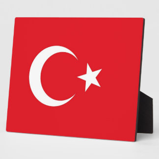 Turkish Flag Plaque