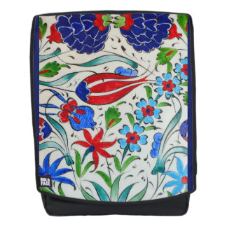 Turkish floral design backpack