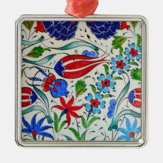 Turkish floral design metal ornament