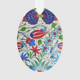 Turkish floral design ornament