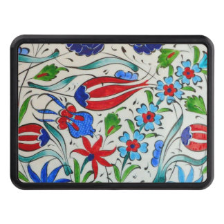 Turkish floral design trailer hitch cover