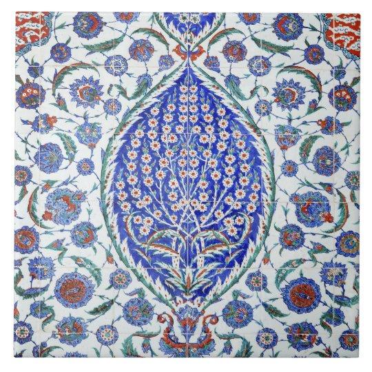 Turkish floral tiles