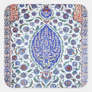 Turkish floral tiles sticker