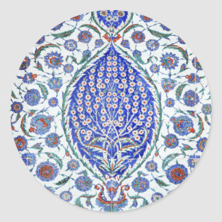 Turkish floral tiles stickers
