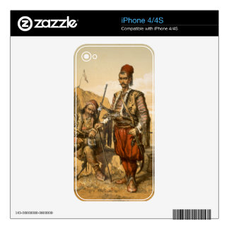 Turkish foot soldiers in the Ottoman army, pub. by Decals For The iPhone 4
