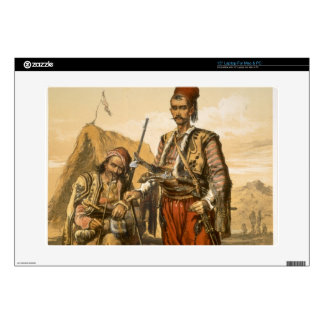 """Turkish foot soldiers in the Ottoman army, pub. by Decal For 15"""" Laptop"""