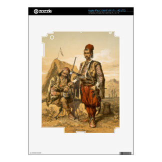 Turkish foot soldiers in the Ottoman army, pub. by iPad 3 Decals