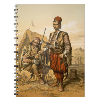 Turkish foot soldiers in the Ottoman army, pub. by Spiral Note Book