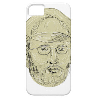 Turkish General Head Drawing iPhone SE/5/5s Case