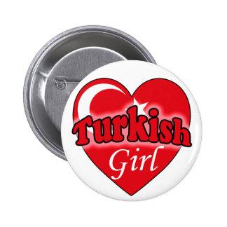 Turkish Girl Button