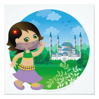 Turkish girl card
