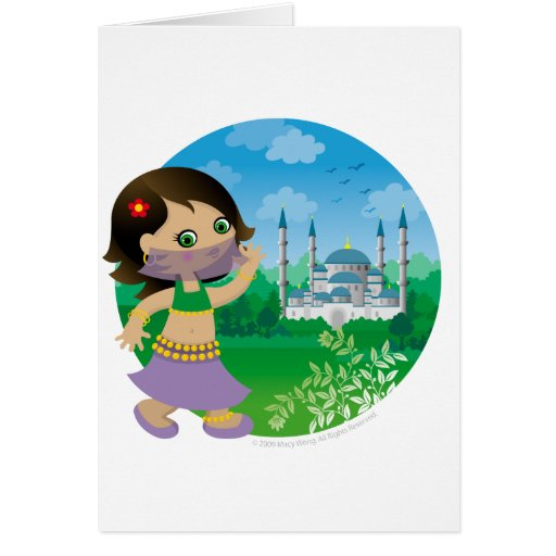 Turkish girl cards