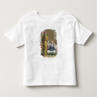 Turkish Girl, having coffee on the sofa, 18th cent Toddler T-shirt