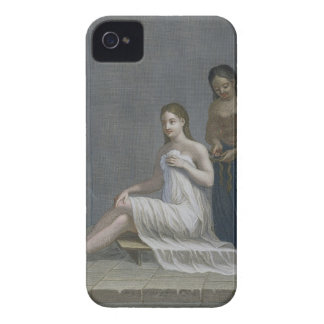 Turkish Girl, having her hair braided in the baths iPhone 4 Case-Mate Case