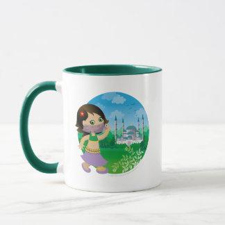 Turkish girl mug