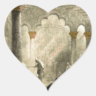 Turkish Hamam Heart Sticker