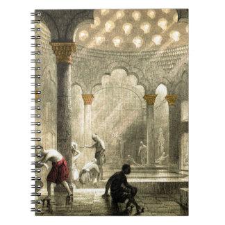 Turkish Hamam Notebook