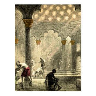 Turkish Hamam Postcard