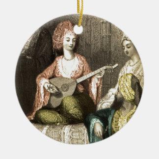 Turkish Harem 1 Ceramic Ornament