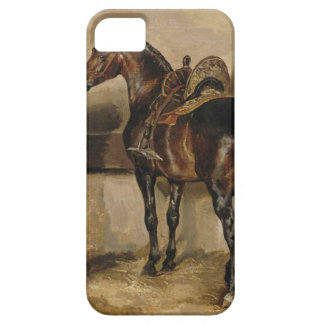 Turkish horse in a stable by Theodore Gericault iPhone SE/5/5s Case