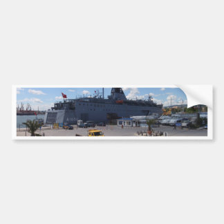 Turkish Hospital Ship Car Bumper Sticker
