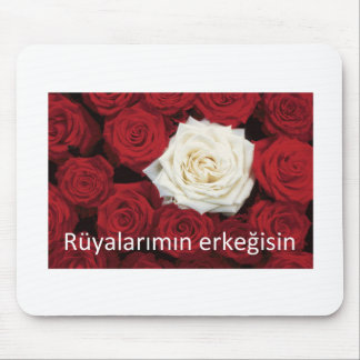 TURKISH LOVE 'You're the man of my dreams' Mouse Pad