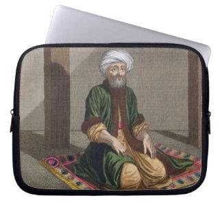 Turkish Man, praying, 18th century (engraving) Laptop Computer Sleeves