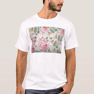 Turkish Money Background T-Shirt