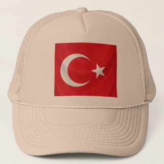 turkish national flag trucker hat