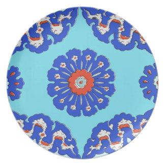 Turkish Ottoman Style Dinner Plates