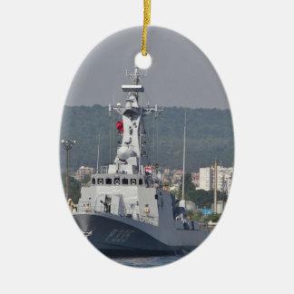 Turkish Patrol Boat Ceramic Ornament