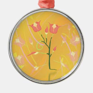 Turkish Poppy Metal Ornament