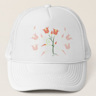 Turkish Poppy Trucker Hat