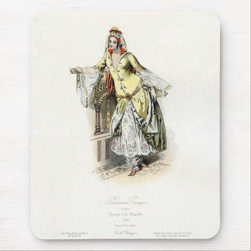 Turkish Princess - 17th Century Fashion Mouse Pads