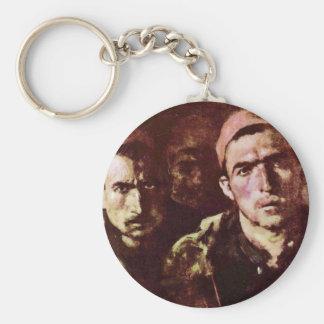 Turkish Prisoners By Grigorescu Nicolae Keychains