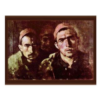 Turkish Prisoners By Grigorescu Nicolae Postcard
