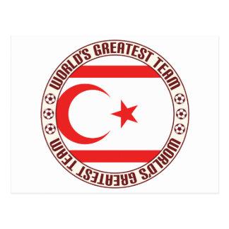 Turkish Rep. Northern Cyprus Greatest Team Postcard