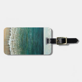 Turkish sea luggage tag