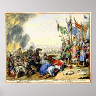 Turkish Siege of Vienna 1683 Poster