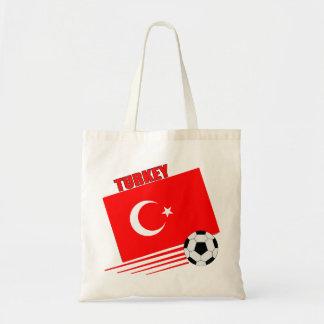 Turkish Soccer Team Canvas Bag
