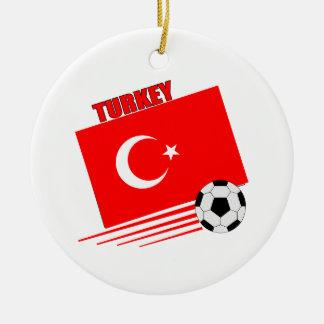 Turkish Soccer Team Christmas Ornaments
