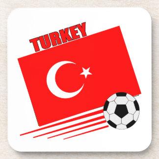 Turkish Soccer Team Coasters