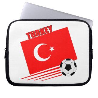 Turkish Soccer Team Computer Sleeves