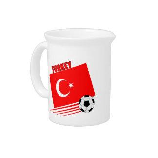 Turkish Soccer Team Drink Pitcher