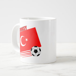 Turkish Soccer Team Extra Large Mug