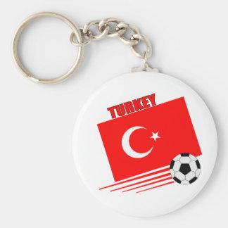 Turkish Soccer Team Key Chain
